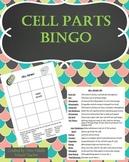 Cell Parts Bingo