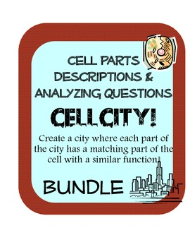 Cell Parts Organelles decriptions  w/ questions and Cell C
