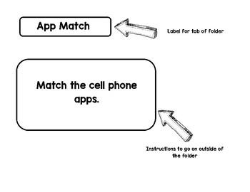 Cell Phone App Match