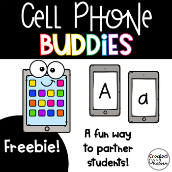 Cell Phone Buddies *FREEBIE!*