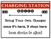Cell Phone Charging Station Rules Bundle