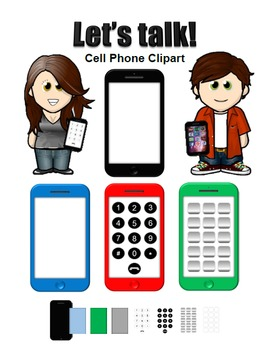 Cell Phone Clipart Images