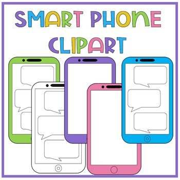 Cell Phone Clipart, Smart Phone Clipart