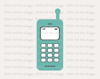 Cell Phone Clipart; Telephone, Smart Phone