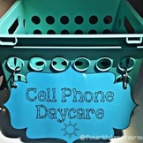 Cell Phone Daycare Sign