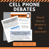 Cell Phone Debate Activity - Policy