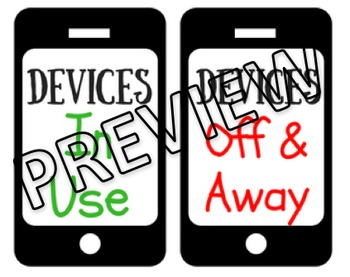 Cell Phone & Devices Poster