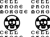 Cell Phone Morgue sign