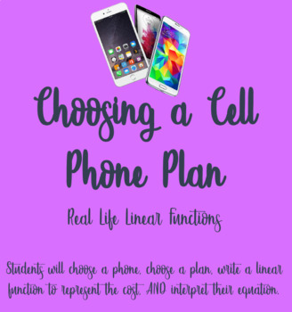 Cell Phone Plans Worksheets Teaching Resources Tpt