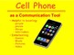 Cell Phone Safety & Manners - Digital Citizenship