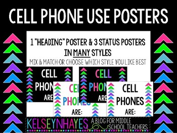 Cell Phone Status Signs