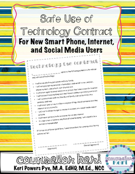 Cell Phone/Technology Use Contract