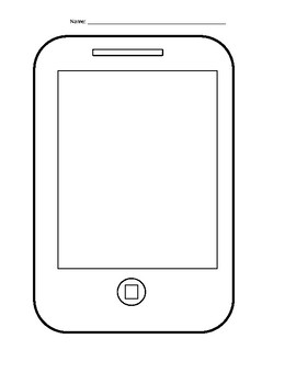 Cell Phone Template