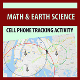 Cell Phone Tracking Trilateration / Triangulation Activity (Metric & Imperial)