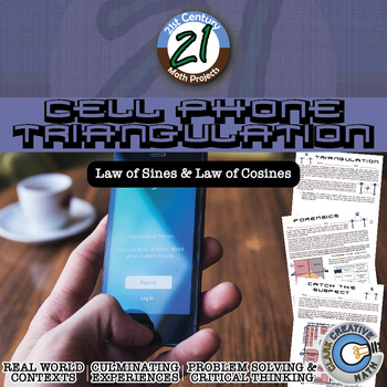 Cell Phone Triangulation -- Law of Sines & Cosines FBI Project