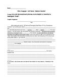 Cell Phones - Helpful or Harmful Essay Outline + Sentence Frames