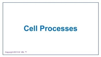 Cell Processes  Homeschool, printables, Study Guides
