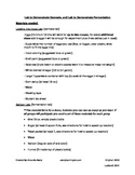 Cell Processes Lab: Osmosis and Fermentation with Student Lab Sheet