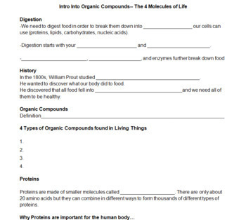 Cell Processes and Molecules of Life Bundle