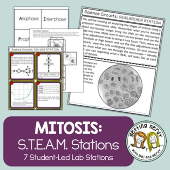 Mitosis - Science Centers / Lab Stations - Cell Reproduction