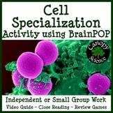 Cell Specialization BrainPOP