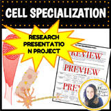 Cell Project Cell Specialization