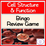 Cell Structure & Functions: Bingo Review Game