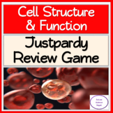 Cell Structure & Functions: Justpardy Review Game