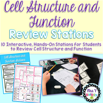 Cell Structure and Function Review Stations