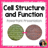 Cell Structure and Function SMART notebook presentation