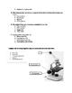 Cell Structure and Microscope Quiz