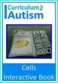 Cell Structures Biology Interactive Science Book Autism Special Education