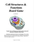 Cell Structures & Functions Board Game