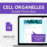 Cell Structures / Organelles Quiz in Google Forms