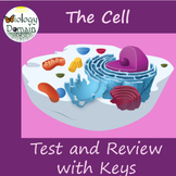 The Cell: Test, Review Questions, and Answer Keys