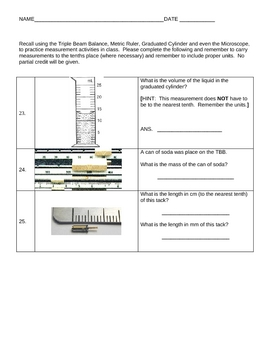 Cell Test with characteristics of living things and measurement