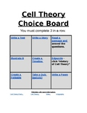 Cell Theory Choice Board