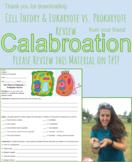 Cell Theory & Eukaryote vs. Prokaryote Review Homework