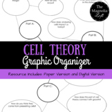 Cell Theory Graphic Organizer (Digital and Printable)