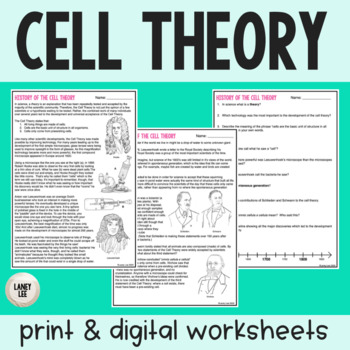 Cell Theory - Guided Reading