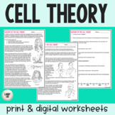 Cell Theory - Guided Reading - Print & Google Versions