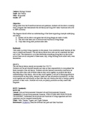 Cell Theory Lesson Plan