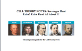 Cell Theory News Scavenger Hunt Handout