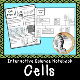 Interactive Science Notebook CELLS
