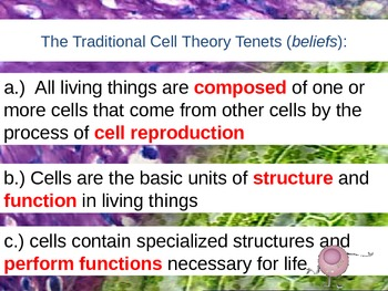 Cell Theory Theater & Cell Intro