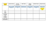 Cell Theory Web Quest & Data Table