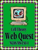 Cell Theory Web Quest: MS-LS1-1