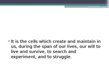 Cell Theory and Basic Cell Types Presentation