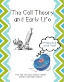 Cell Theory and Early Life notes and powerpoint