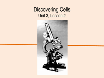 Cell Theory and Microscopes PowerPoint Presentation and Gu